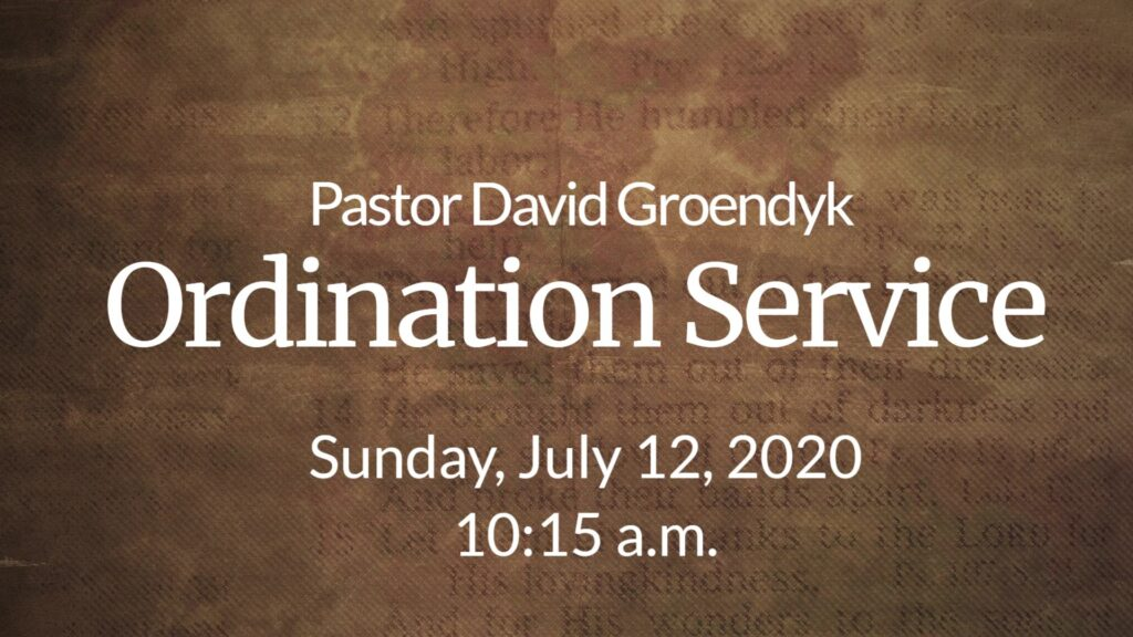 Groendyk Ordination Service