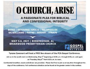 PCA Gospel Conference Live Stream